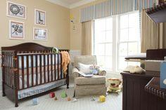 Baby Boy Nursery - neutral shades!