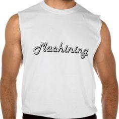 Machining Classic Retro Design Sleeveless T-shirts Tank Tops