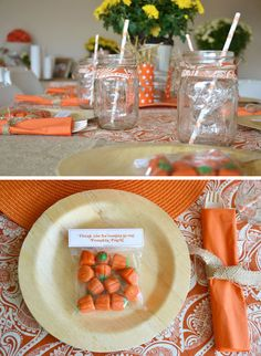 Pumpkin Patch Party @ MJ Paperie (Really, a 1st birthday party, but lots of good ideas!)