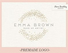 Custom Logo Design and Watermark  Premade  FB148 by FloraBashley