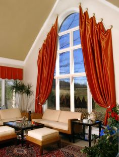 Drapery Ideas | Drapery Styles - Pinch Pleat & Window Treatment Drapes for Your Home ...