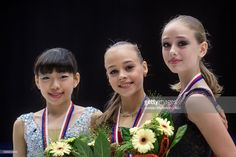 News Photo : Rika Kihira of Japan, Anastasiia Gubanova and...