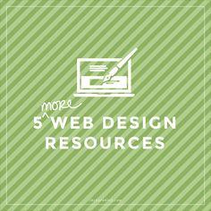 5 More Web Design Resources | thebarnblog.com