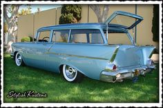 handyman wagon | STYLISH KUSTOMS 57 Handyman Wagon