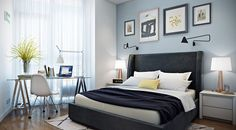 Молодая пара недавно построенный двухкомнатная квартира 41м2 и оборудование - необычный план этажа, современные и ретро элементы - мебель Тренд Журнал