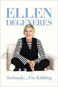 Seriously...I'm Kidding by Ellen DeGeneres is a whimsical and fun listen as an audiobook.