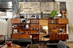 Wyeth Home; Wall Unit: Finn Juhl