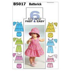Mccall Pattern B5017 All Sizes -Butterick Pattern