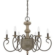 Valerie 6-Light Candle-Style Chandelier