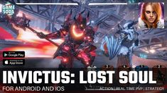 INVICTUS: Lost Soul | Gameplay | High Graphics Real Time PvP | Gamesoda - YouTube Free Mobile Games, Lost Soul, Pvp, Fighting Games, Graphics, Youtube, Graphic Design, Printmaking, Youtubers