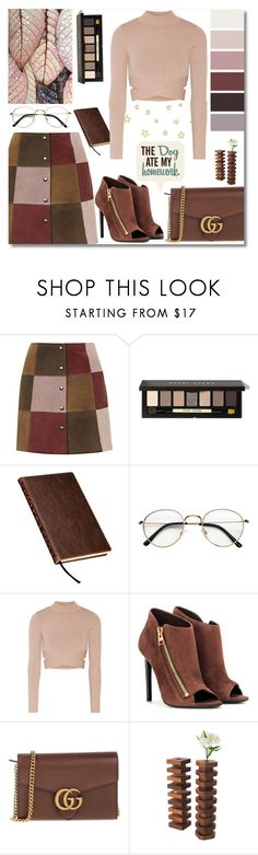"""Untitled #504"" by banescu-diana ❤ liked on Polyvore featuring Topshop, Bobbi Brown Cosmetics, Samsill, Jonathan Simkhai, Tom Ford and Gucci"