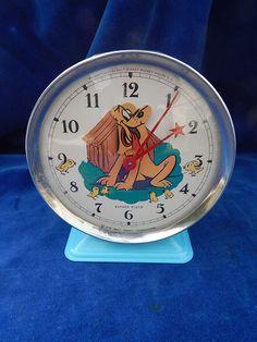 REVEIL ANCIEN / Old alarm clock - VINTAGE - BAYARD - WALT DISNEY - PLUTO - TOP ! | Collecties & Verzamelobjecten, Klokken & Wekkers, Wekkers | eBay!