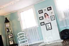 Keri Kay Photography studio - Perfect colors for my business and my next studio space