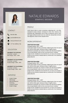 amazing cv templates - simple cv format in word - work resume template - creative resume builder Cover Letter Template, Template Cv, Simple Resume Template, Cv Cover Letter, Teacher Resume Template, Creative Resume Templates, Layout Template, Creative Cv, Templates Free