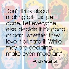 Andy Warhol quote #quote