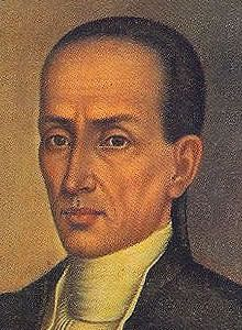 José Campeche, Puerto Rican painter. Some of his most famous paintings are: the portraits of Ramón de Castro and Miguel A. de Ustáriz, the Virgin of Belen, the Virgin of the Rosary, Saint John the Baptist, the Sacred Family, the Bishop of San Francisco de la Cuerda and the Vision of Saint Anthony. Campeche also excelled in architecture and wood carving; he built the altar of Saint Anne's church in San Juan and an altar-piece in Hormigueros.