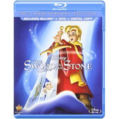 The Sword in the Stone (50th Anniversary Edition) [Blu-ray]         -- Be sure to check out this awesome product. (This is an affiliate link) #MoviesTV