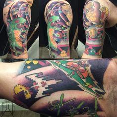 arcade tattoo ile ilgili görsel sonucu