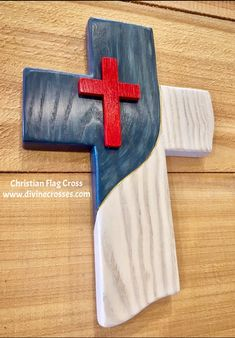 Divine Crosses® is a full time family business making Divinely inspired Custom Handmade Wooden Crosses. We pray over and pour our hearts into each and every cross we make. Christian Flag, Christian Crafts, Christian Decor, Diy Wood Projects, Wood Crafts, Woodworking Projects, Wooden Cross Crafts, Woodworking Furniture, Diy Crafts