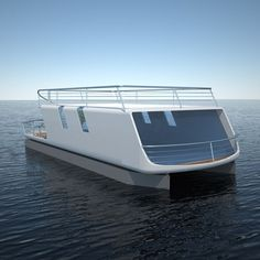 tubiQ is A Modular Concept That Combines A Boat and A Living Area | Tuvie I think I can do this, with a twist :)