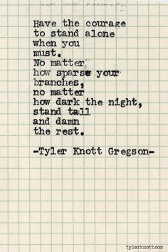 Typewriter Series #485 by Tyler Knott Gregson