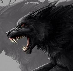 Do you believe in the supernatural? – My CMS Mythical Creatures Art, Mythological Creatures, Fantasy Creatures, Fantasy Wolf, Dark Fantasy Art, Anime Wolf, Wolf Hybrid, Demon Wolf, Wolf Artwork