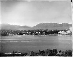Vancouver British Columbia Canada c.1904 Pacific by GalleryLF