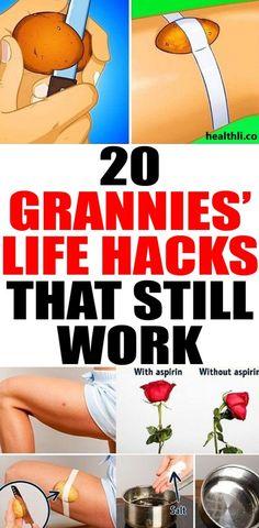 20 Grannies' Life Hacks That Still Work – antiaginzworld Inbound Marketing, Marketing Digital, Flat Lay Fotografie, Mat Yoga, Life Hacks, Endocannabinoid System, Little Presents, How To Remove, How To Get