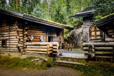 Exterior of a traditional smoke sauna in Vierumäki, Finland:… Finnish Sauna, Infrared Sauna, Finland, My House, Beautiful Pictures, Exterior, Cabin, Traditional, House Styles