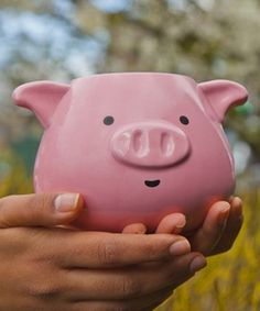 This Pig Mug by thumbsUp! is perfect! #zulilyfinds