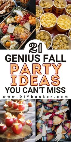 Thanksgiving Recipes, Fall Recipes, Holiday Recipes, Appetizers For Party, Appetizer Recipes, Outdoor Party Foods, Fall Treats, Holiday Treats, Party Food Bars