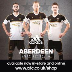 Aberdeen 2015-2016 Away Kit by Adidas