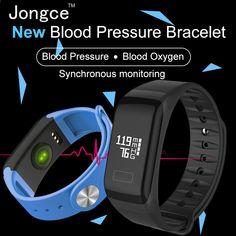 Jongce JCWT1 armbånd pulsmåler svømning vandtæt IP66 smart armbånd aktivitet tracker pedometer ur armbånd