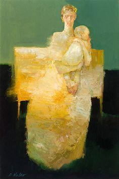 Seated Figure  |  oil  |  36 x 24 inches...dan mccaw