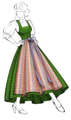 Glamour, Drawing Clothes, Traditional Dresses, The Hobbit, Austria, Switzerland, Random Stuff, Folk, Aurora Sleeping Beauty