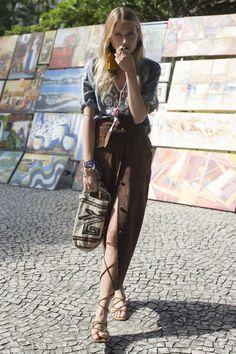 Dree Hemingway Discovers the Markets of Rio de Janeiro with Shop Latitude