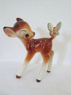vintage ceramic Bambi