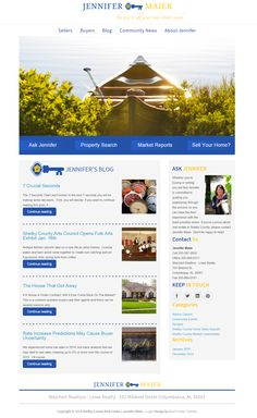 LivingShelbyCounty.com  Full custom, responsive, real estate website built on WordPress.