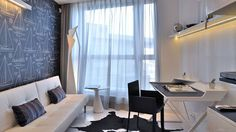 Wall paper @ modern home