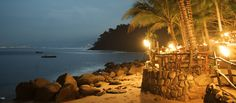Rhythm of the Nights--Las Caletas beach near Puerto Vallarta