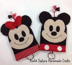 Esconde Chave Mickey e Minnie