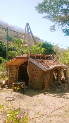 Casita de adobe - clay house