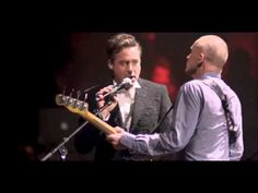 DRIVEN TO TEARS ~ Sting and Robert Downey Jr...YES Robert Downey Jr performing at Sting's 60th birthday bash at the Beacon Theatre in New York. Not just a pretty face...he can sing too !! :))