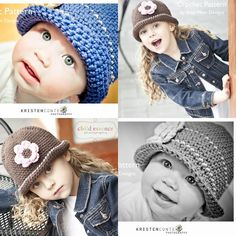 Daisy Cloche -Easy Hat for All Ages