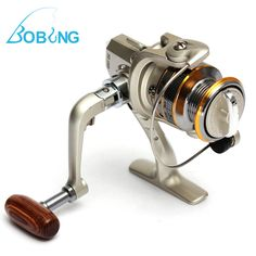New Hot sale 6 BB 6BB High Power Gear Spinning Spool Aluminum Carp Fishing Reel SG1000 for Fishing tackle line Bait Runner Pesca