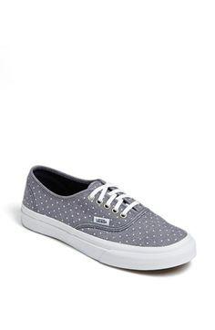 Vans 'Authentic - Slim' Polka Dot Sneaker (Women) available at #Nordstrom