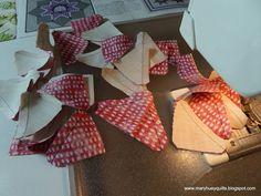 """Mary: workshop tips from the tutor to the pupil. Over the next 6 months, I'll be teaching Piecing the Feathered Star with Marti Michell's templates several times. I made a new set of """"ste..."""