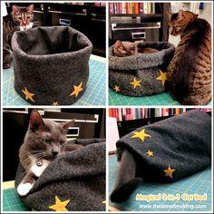 Tutorial: Magical 3-in-1 Cat Bed