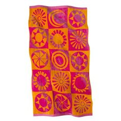 Limited Edition Mossimo Supply Co. Terry Beach Towel -Hot Pink