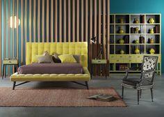 Tête de lit Profile - Roche Bobois - Marie Claire Maison